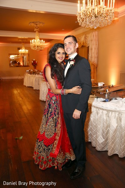 Bride in Indian outfit in White Castle, LA Fusion Wedding by Daniel Bray Photography