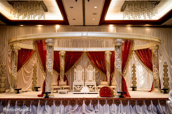 Indian Ceremony Venue in New Brunswick, NJ Indian Fusion Wedding by PhotosMadeEz
