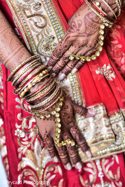 Indian Bride Fashion in Azusa, CA Indian Fusion Wedding by Greycard Photography