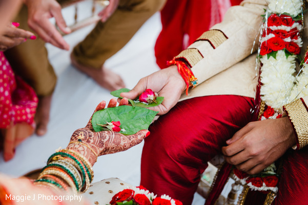 Indian Wedding ceremony in Bethlehem, Pennsylvania Indian Wedding by Maggie J Photography