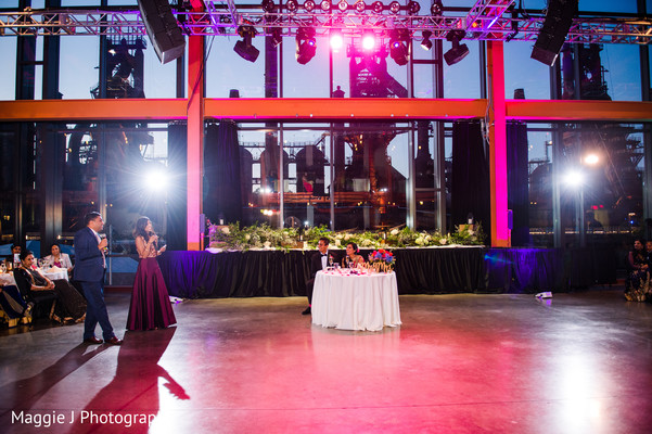 Indian wedding reception venue. in Bethlehem, Pennsylvania Indian Wedding by Maggie J Photography