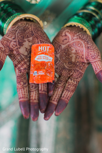 Bridal Henna in Perrysburg, OH Indian Fusion Wedding by Grand Lubell Photography
