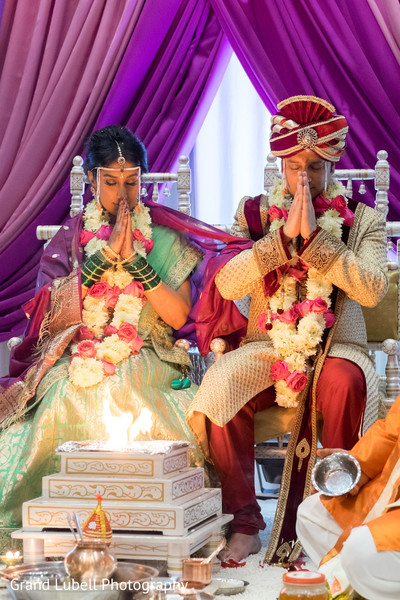 Indian Wedding Ceremony in Perrysburg, OH Indian Fusion Wedding by Grand Lubell Photography
