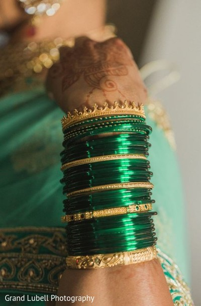 Indian Wedding Bangles in Perrysburg, OH Indian Fusion Wedding by Grand Lubell Photography
