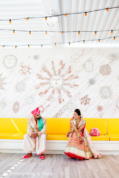 Pre indian wedding ceremony photoshoot in Palm Bech, FL Indian Wedding by PS Photography & Films