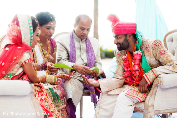 Beautiful Indian wedding ceremony in Palm Bech, FL Indian Wedding by PS Photography & Films