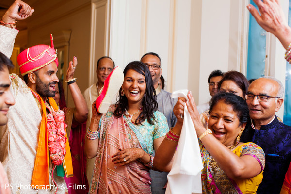 Beautiful Indian wedding post ceremony traditions in Palm Bech, FL Indian Wedding by PS Photography & Films