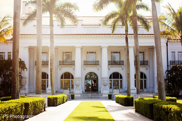 Beautiful venue for Indian destination wedding in Palm Bech, FL Indian Wedding by PS Photography & Films