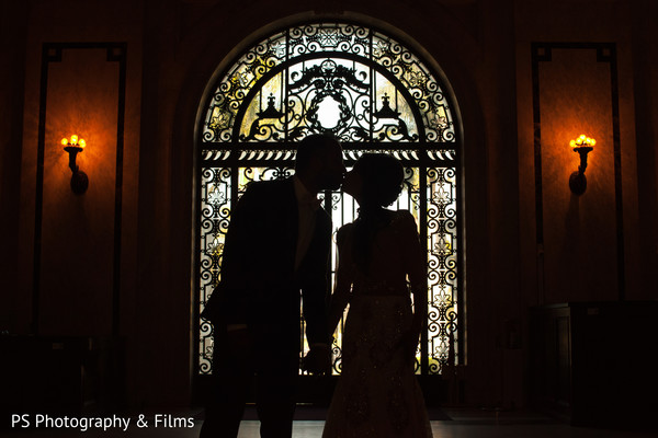 Pre indian wedding reception photoshoot in Palm Bech, FL Indian Wedding by PS Photography & Films