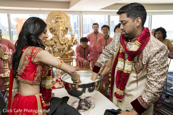 Indian wedding ceremony ritual. in Jersey City, NJ Indian Wedding by Click Café Photography