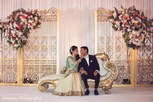 indian couple,gold sari,groom fashion