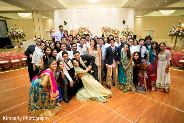 Courteous Indian wedding reception in Tampa, FL Indian Wedding by Kimberly Photography