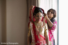 Lovely Maharani getting ready