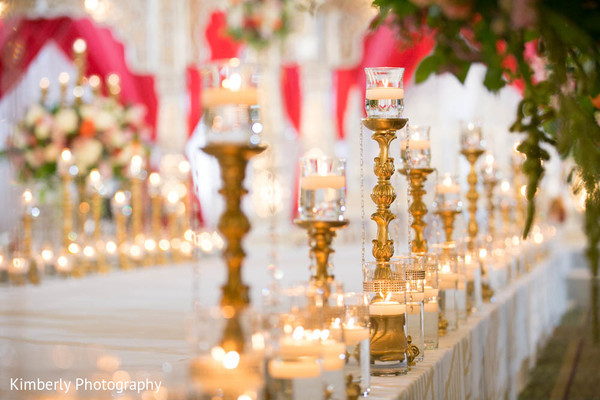 Spectacular floral and decor in indian wedding in Tampa, FL Indian Wedding by Kimberly Photography