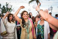 indian wedding,indian pre wedding celebration,beach party