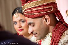 bride and groom portrait,indian wedding day portrait