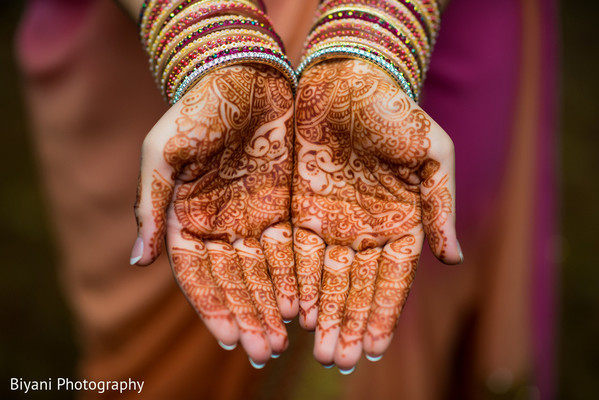 Bridal Mehndi Henna in Houston, TX South Asian Indian Wedding Engagement by Biyani Photography