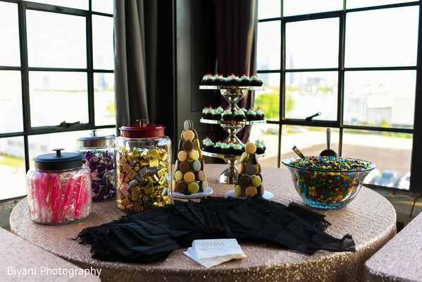 Dessert Table in Houston, TX South Asian Indian Wedding Engagement by Biyani Photography