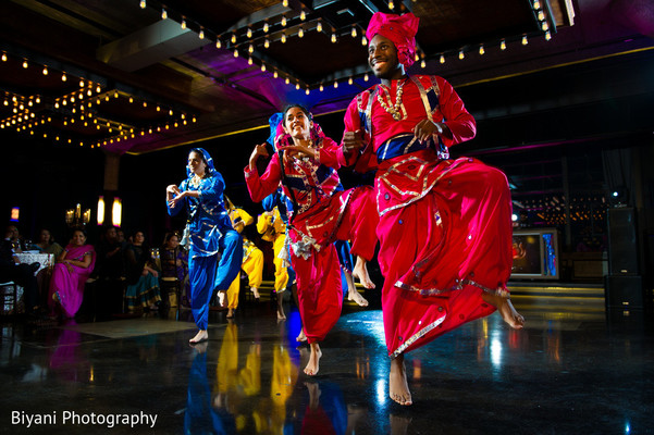 Bhangra Performance in Houston, TX South Asian Indian Wedding Engagement by Biyani Photography