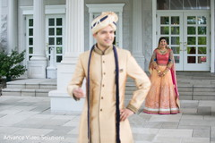 bride and groom wedding outdoor portrait,bride and groom outdoor wedding photography,bridal lengha