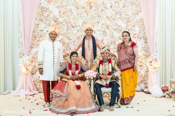 Floral Decor in Somerset, New Jersey Indian Wedding by Advance Video Solutions