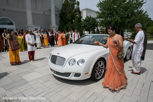 Bentley Baraat in Somerset, New Jersey Indian Wedding by Advance Video Solutions