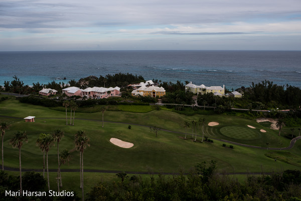 Magnificent view of indian wedding venue in Bermudas in Southhampton, Bermuda Indian Wedding by Mari Harsan Studios