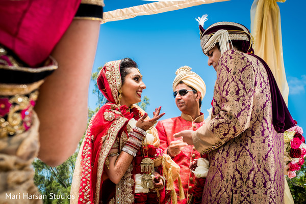 Indian wedding ceremony capture. in Southhampton, Bermuda Indian Wedding by Mari Harsan Studios