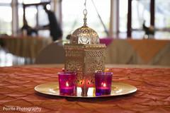 mehndi decor,candle arrangement,mehndi party