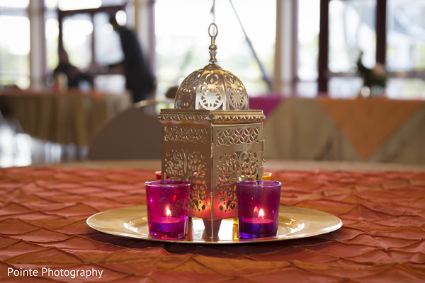 Beautiful Mehndi setting in Detroit, Michigan Fusion Wedding by Pointe Photography