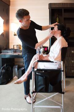 bride makeup,bride hair,getting ready