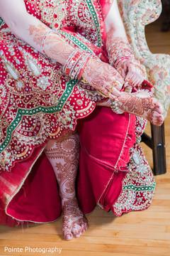 mehndi designs,wedding sari,maharani