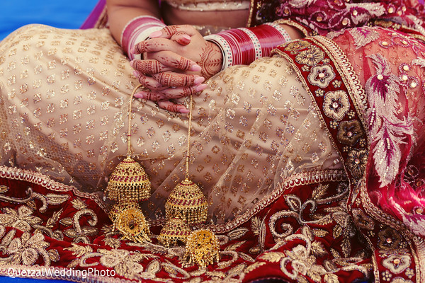 Wedding Lengha in Barcelo Riviera Maya Sikh Wedding by QuetzalPhoto