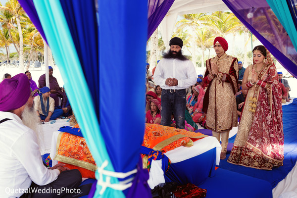 Sikh Indian Wedding in Barcelo Riviera Maya Sikh Wedding by QuetzalPhoto