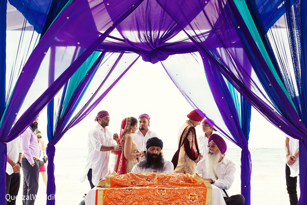 Sikh Wedding in Barcelo Riviera Maya Sikh Wedding by QuetzalPhoto