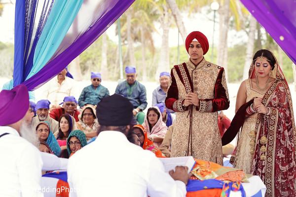 Sikh Indian Wedding in Barcelo Riviera Maya Sikh Wedding by QuetzalPhoto