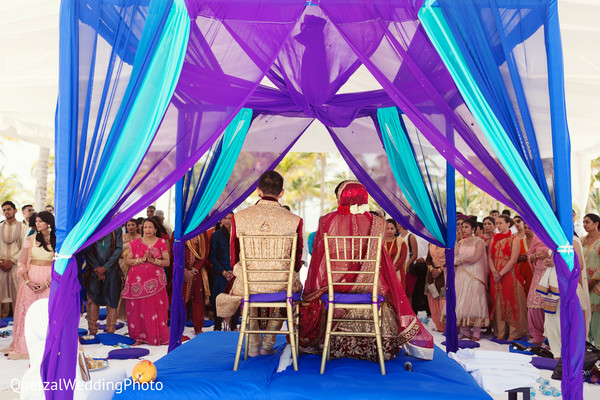 Sikh Wedding Ceremony in Barcelo Riviera Maya Sikh Wedding by QuetzalPhoto