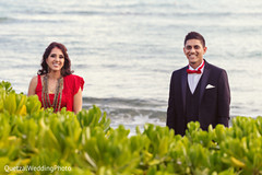 waterfront wedding,indian waterfront wedding,waterfront wedding ceremony,indian waterfront wedding ceremony,beautiful wedding venue,beautiful indian wedding venue,waterfront wedding venue,waterfront indian wedding venue,bride and groom portrait,indian wedding day portrait,bride and groom outdoors,indian bride and groom portrait,indian fusion wedding day portrait