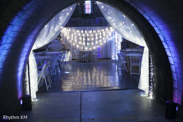 Reception decor in San Jose, CA, Indian Wedding by Rhythm Krishna Mohan