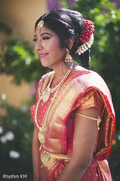 South Indian bridal jewelry in San Jose, CA, Indian Wedding by Rhythm Krishna Mohan