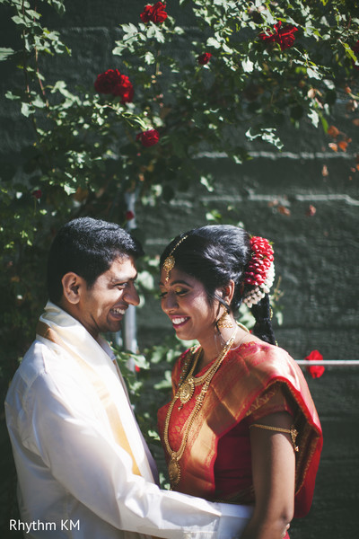 South Indian couple in San Jose, CA, Indian Wedding by Rhythm Krishna Mohan