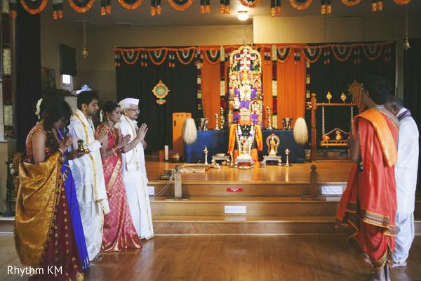 South Indian Temple Wedding in San Jose, CA, Indian Wedding by Rhythm Krishna Mohan