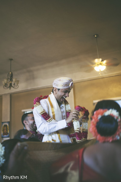 South Indian Groom in San Jose, CA, Indian Wedding by Rhythm Krishna Mohan