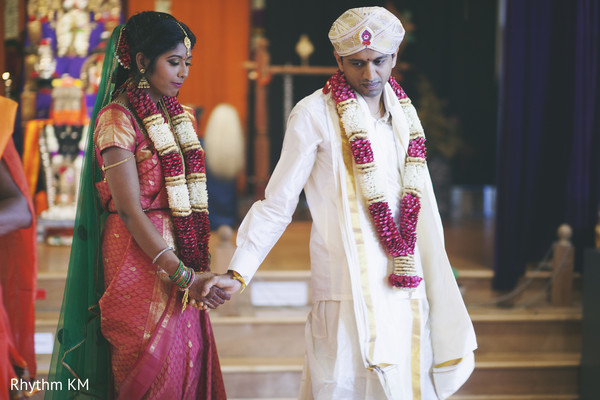 South Indian wedding pheras in San Jose, CA, Indian Wedding by Rhythm Krishna Mohan