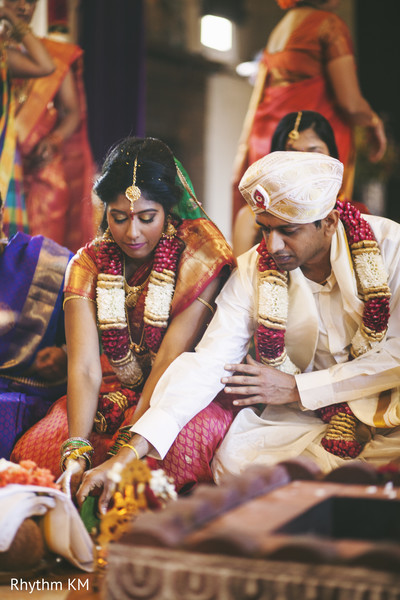 South Indian Wedding Ceremony Rituals in San Jose, CA, Indian Wedding by Rhythm Krishna Mohan