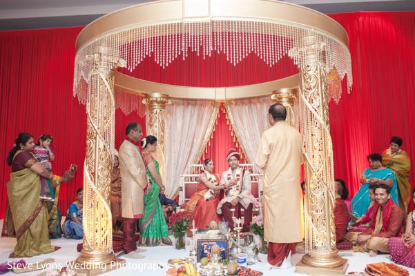 Indian Wedding Ceremony in Columbus, Ohio Indian Wedding by Steve Lyons Wedding Photography