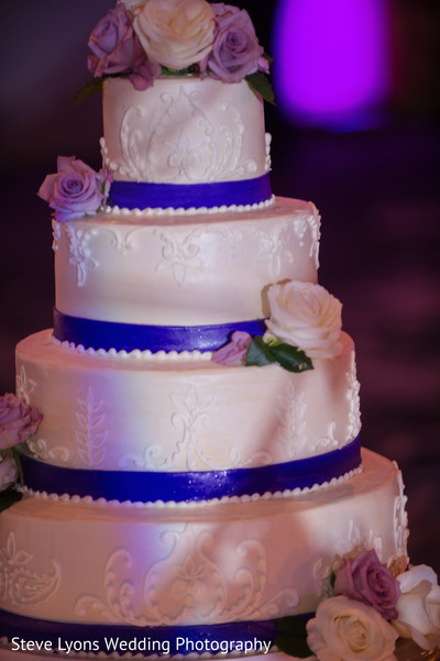 Indian Wedding Cake in Columbus, Ohio Indian Wedding by Steve Lyons Wedding Photography