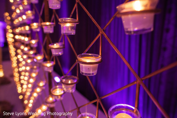Wedding Reception Decor in Columbus, Ohio Indian Wedding by Steve Lyons Wedding Photography