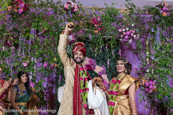 floral & decor,indian wedding ceremony,indian couple
