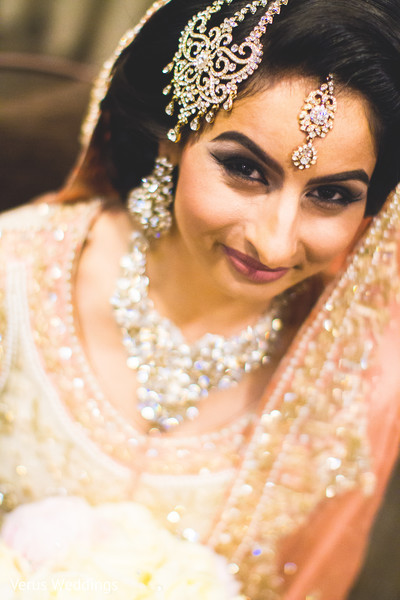 Indian Bridal Portrait in San Jose, CA Indian Wedding by Naveed Ahmad Photography